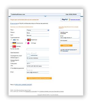 Payer sans compte Paypal